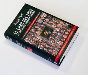 """El libro """"El Crac del 2008"""" de Ángel Font"""